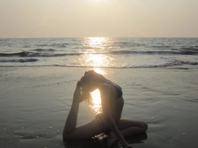 Learn yoga in goa
