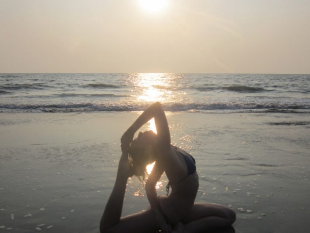 Learn yoga in india