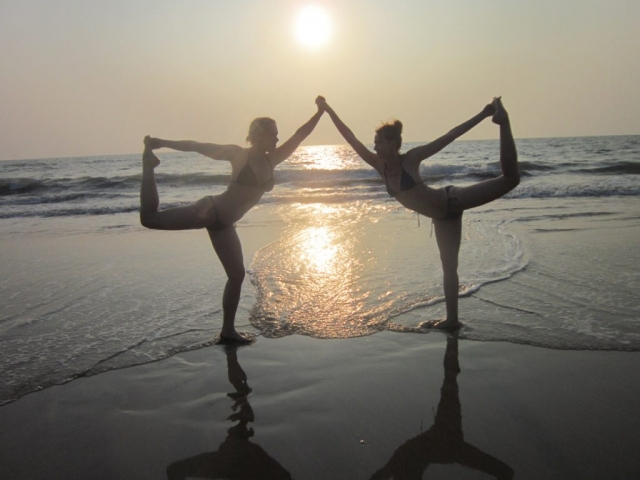 Yoga guru in goa