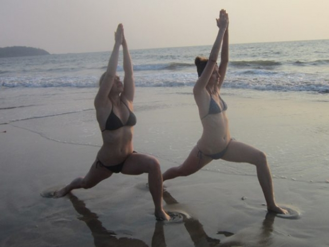 Hatha Yoga at arambol