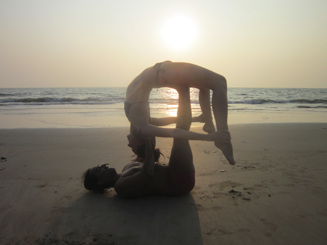 ashtanga at arambol beach