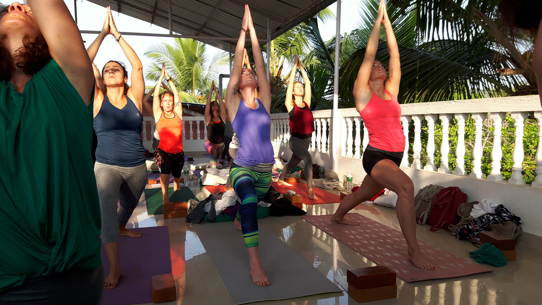 Yoga Certification Course at Goa