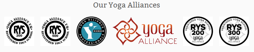 yoga alliance with yoga dhyan