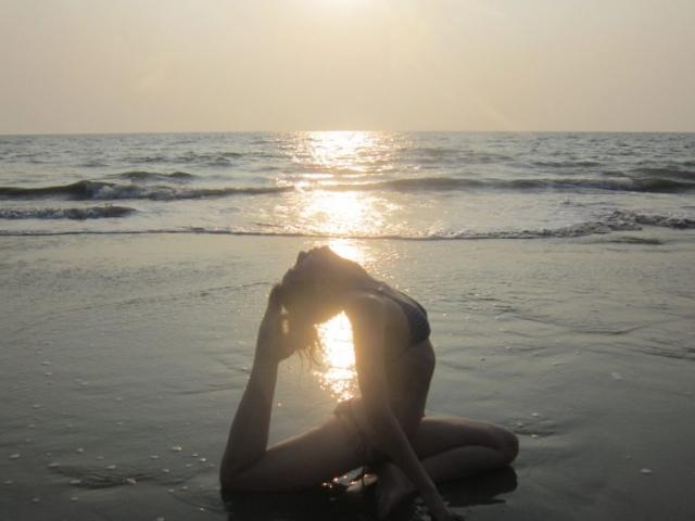 Learn yoga in goa