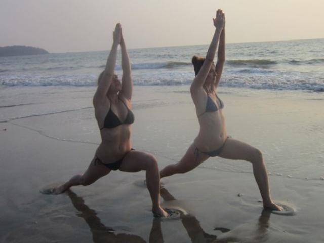 Hatha Yoga at arambol
