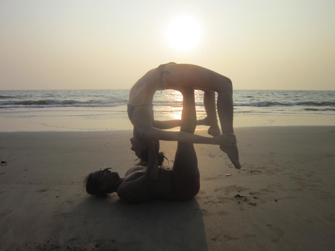ashtanga at arambol beach